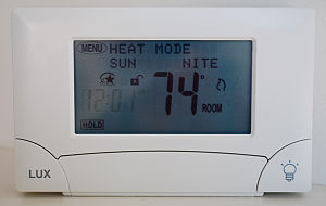 Lux Products' Model TX900TS Touch Screen Therm...
