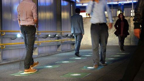 Kinetic sidewalk