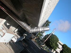 Condensing Boiler Exhaust vapour