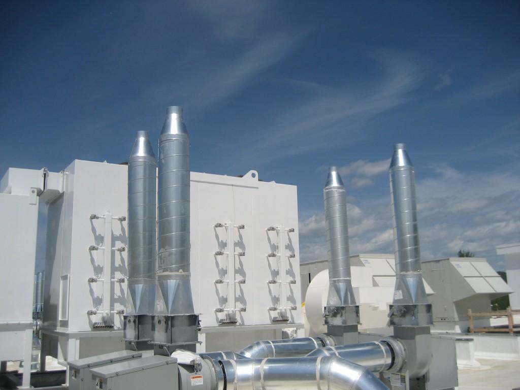 Brand new HVAC equipment