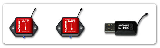 An example of a wireless temperature sensor.