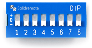 English: this is a dip switch calculator desig...