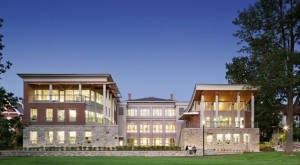 Champlain College's LEED Platinum certified Perry Hall