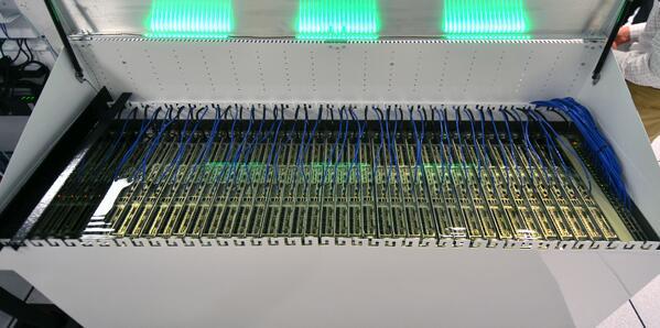 liquid cooled servers