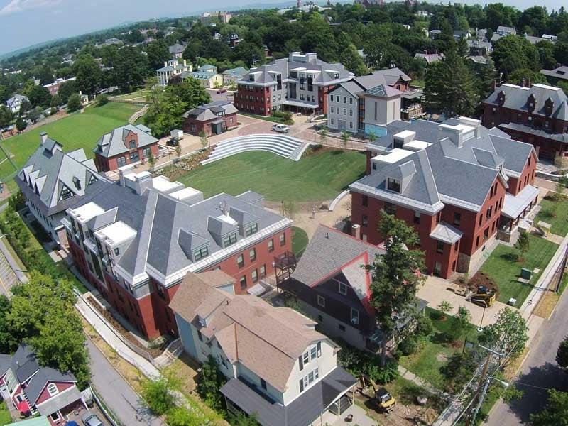 Champlain College Res-Tri halls, courtesy Peterson Consulting