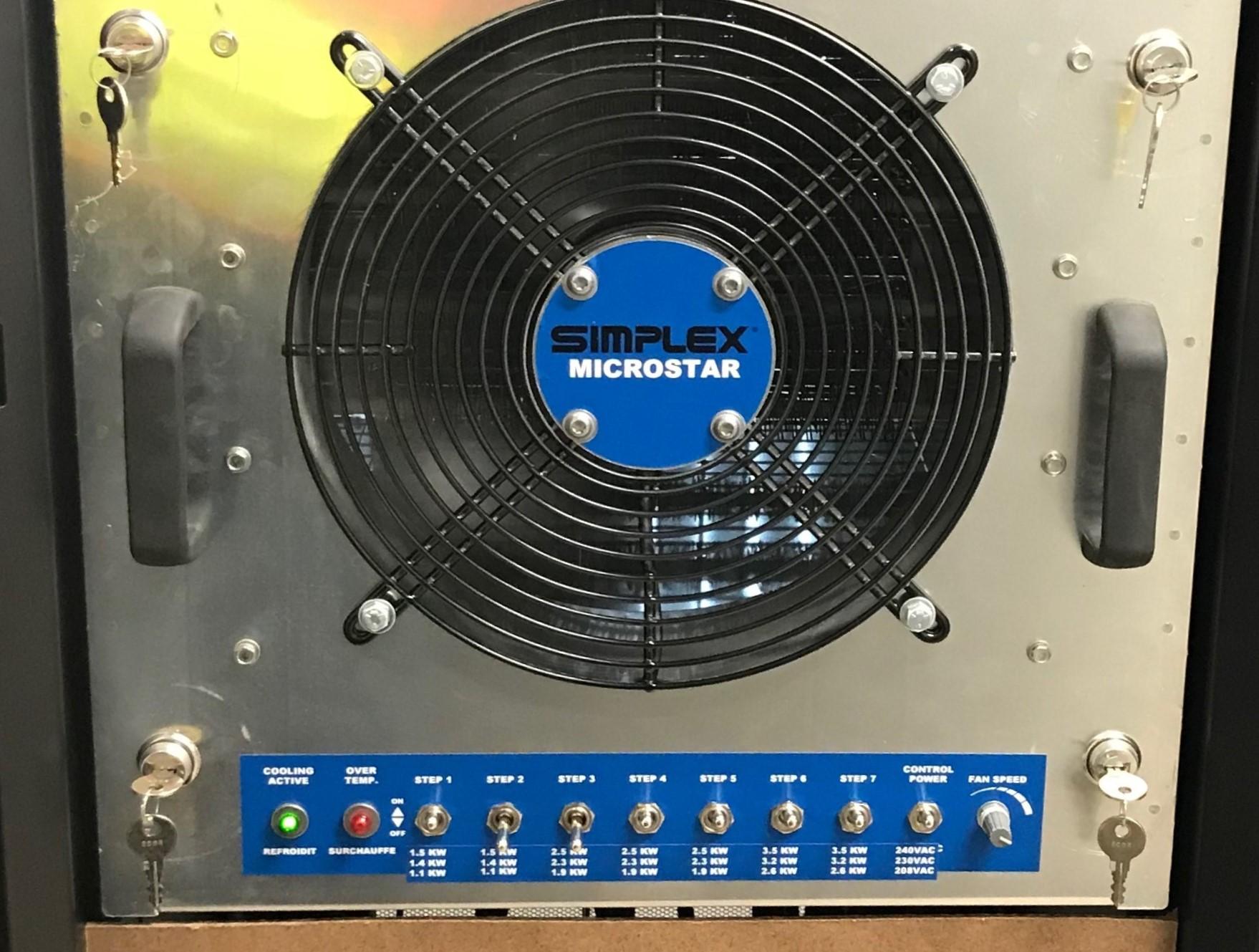 Simplex MicroStar Precision Air Heater
