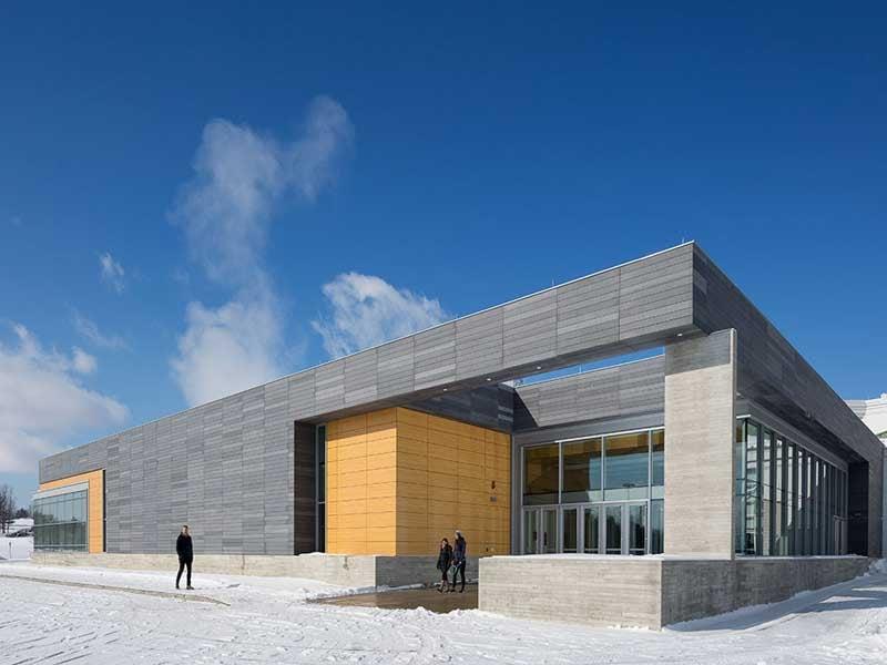 Middlebury College squash center