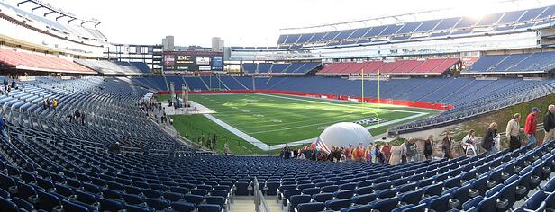 Gillette Stadium. Image by Flickr user Alex1961